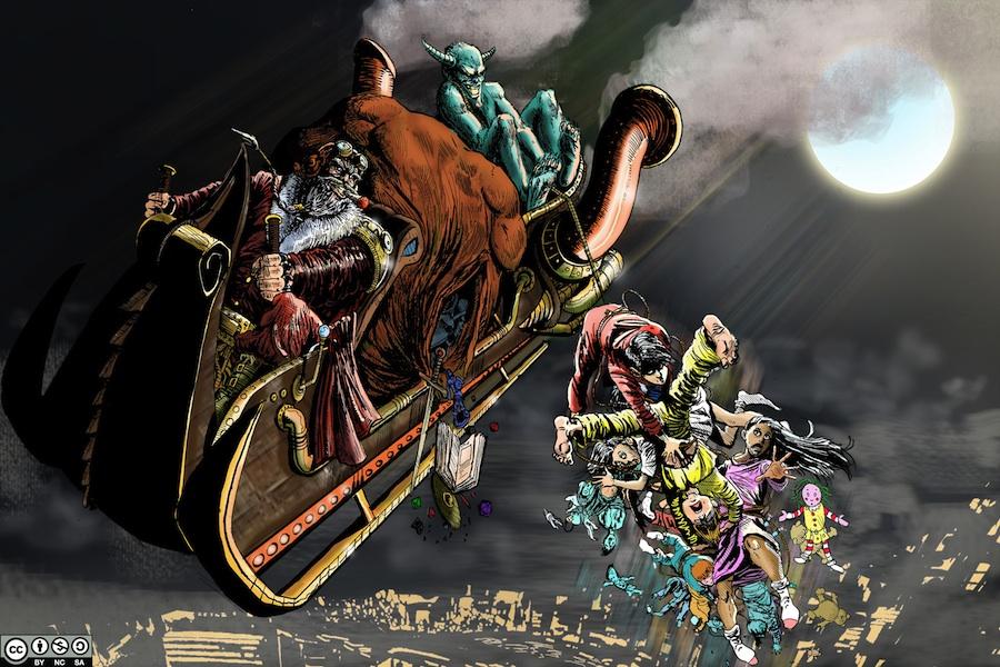 Krampus Christmas Carnival: Enter the Krampus! (Part 1 of 3)