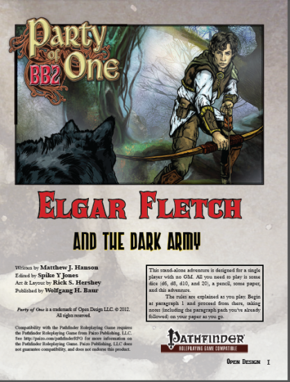 Party of 1: Elgar Fletch and the Dark Army