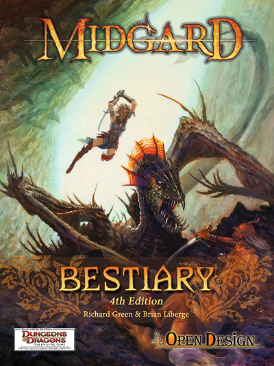 Design Diaries: Midgard Bestiary, 4th Edition Style