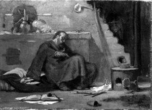 Study for the dead alchemist -- Elihu Vedder
