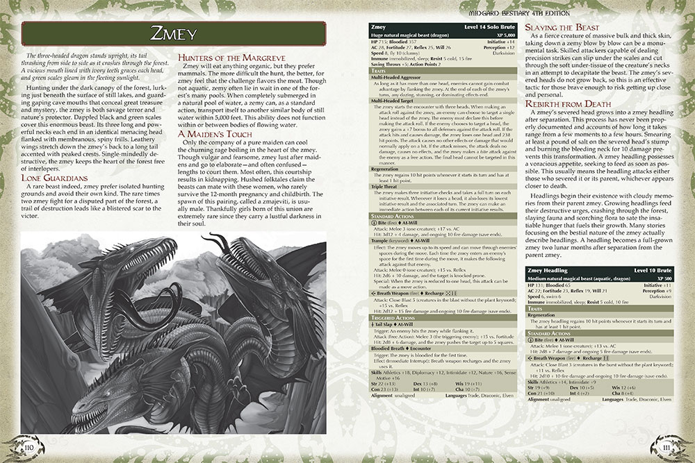 Designer Diaries: Midgard Bestiary, 4th Edition Style (Part 3)