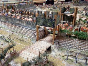 """Philip J. Viverito's """"Siege of Alesia"""" game at Cold Wars 2010 (Photo: Steve Winter)"""