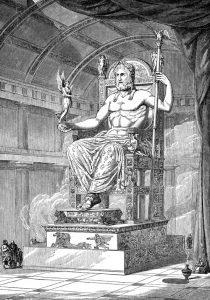 Greek Statue of Zeus