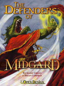 The Defenders of Midgard cover