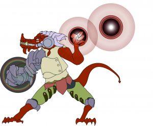 Dragonkin Gauntlet Witch