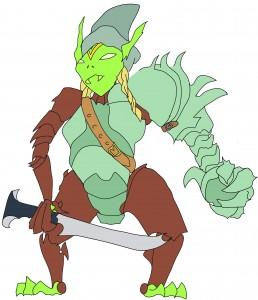 Goblin Gauntlet Witch