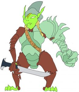 Goblin Gauntlet Witch