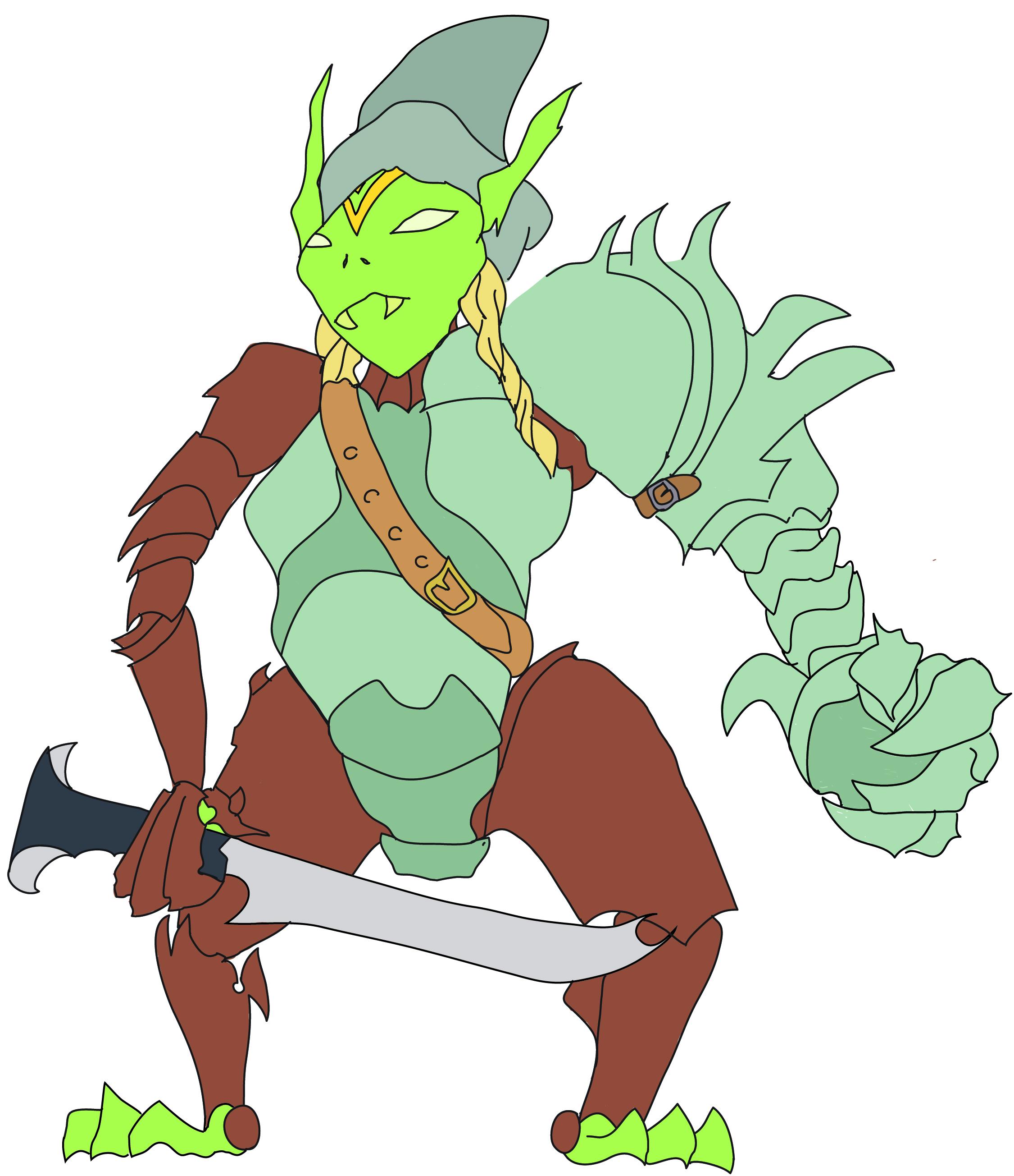 Full Sleeve Midgard: Goblin Gauntlet Witch Variant (Part 7)