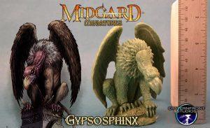 Gypsosphinx with art