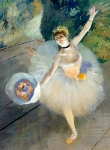 Edgar Degas - Dancer Taking a Bow