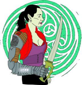 Elf Gauntlet Witch