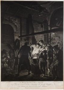 Richard Earlom - A Blacksmith's Shop