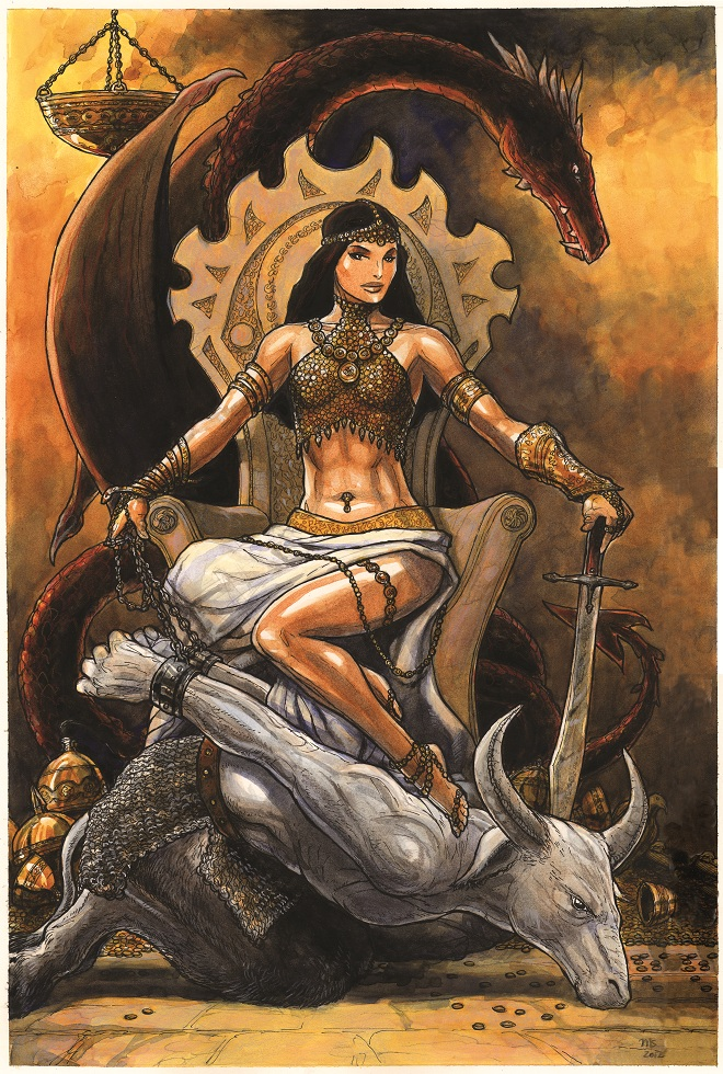 Midgard Icons: The Dragon Sultana