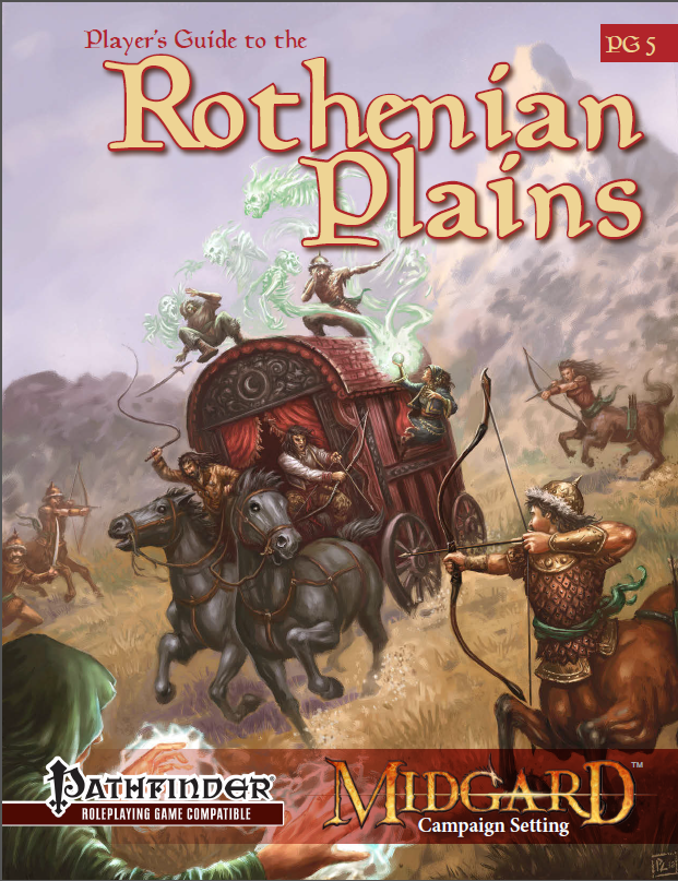 Available Now: Player's Guide to the Rothenian Plains