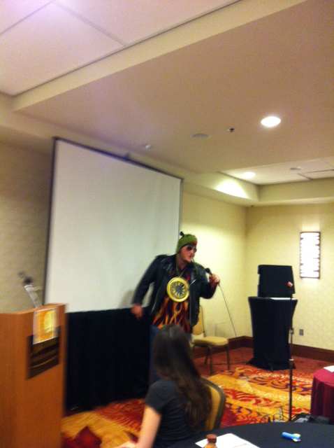 From Kobold Awards: MC Sig raps live and in person.
