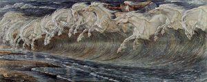 Neptuns Pferde by Walter Crane