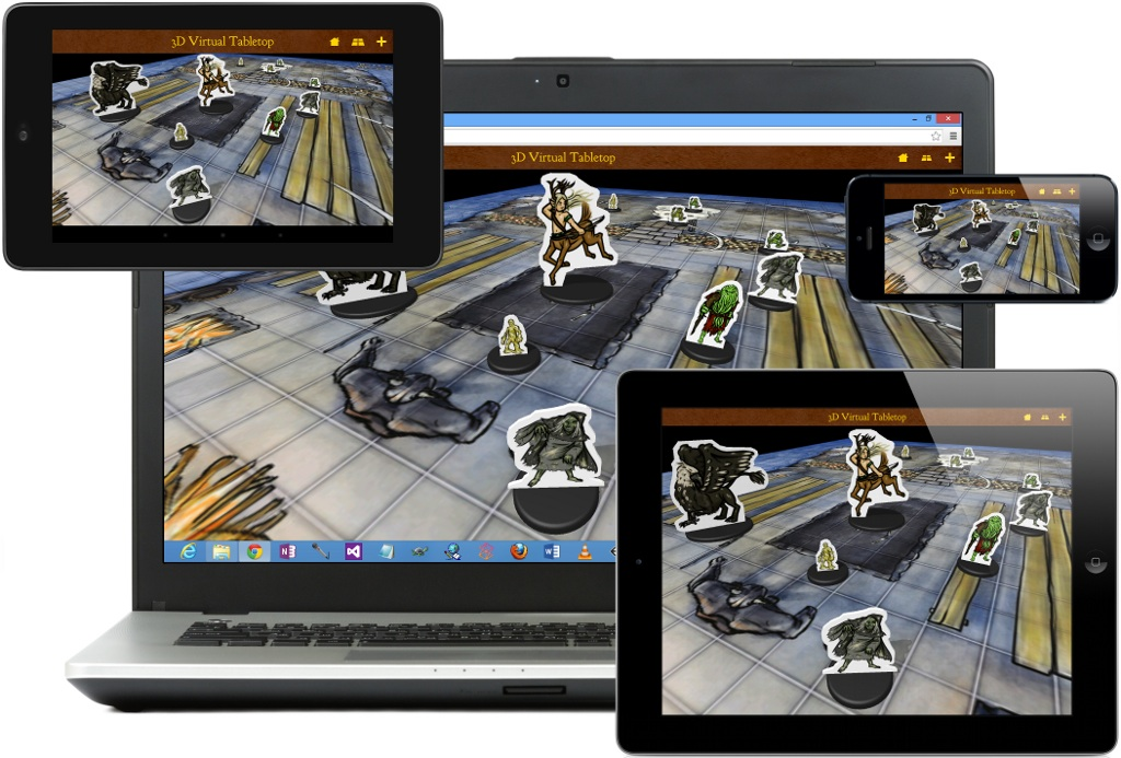 Kobold Press Joins 3D Virtual Tabletop