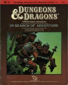 In Search of Adventure; TSR, Inc.