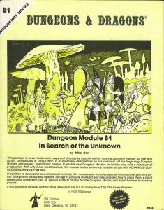 In Search of the Unknown; TSR, Inc.