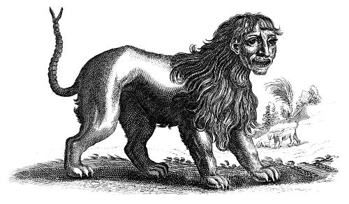 Monsters of the Greek Heroic Age: Manticore