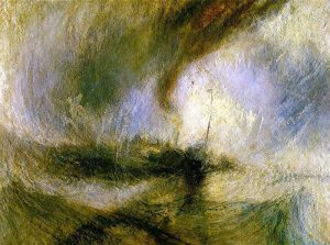 William Turner - Snowstorm