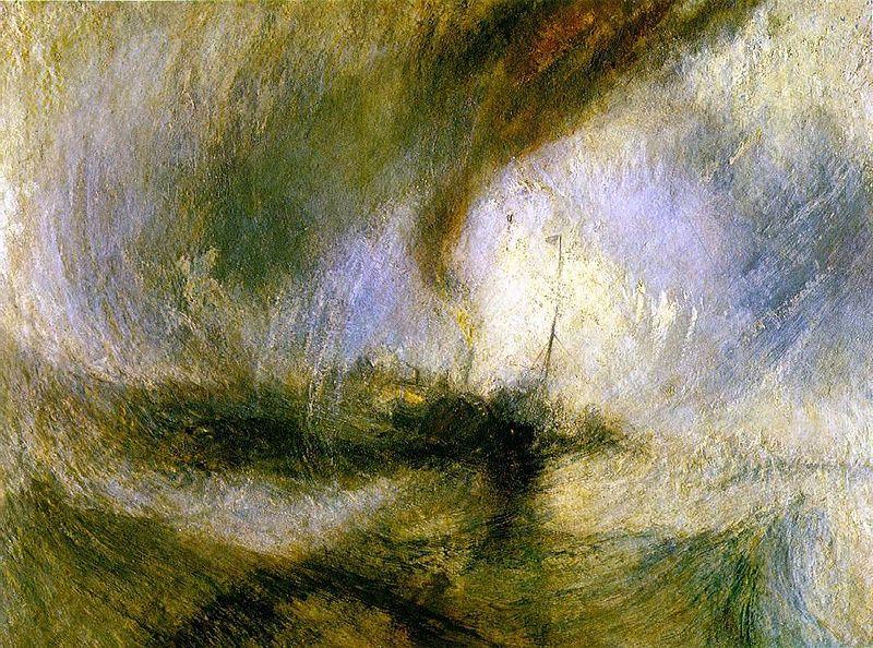 William Turner - Snowstorm