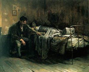 La Miseria by Cristóbal Rojas