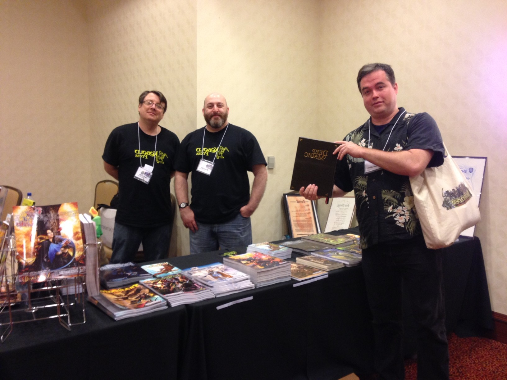 PaizoCon 2014 - Booth