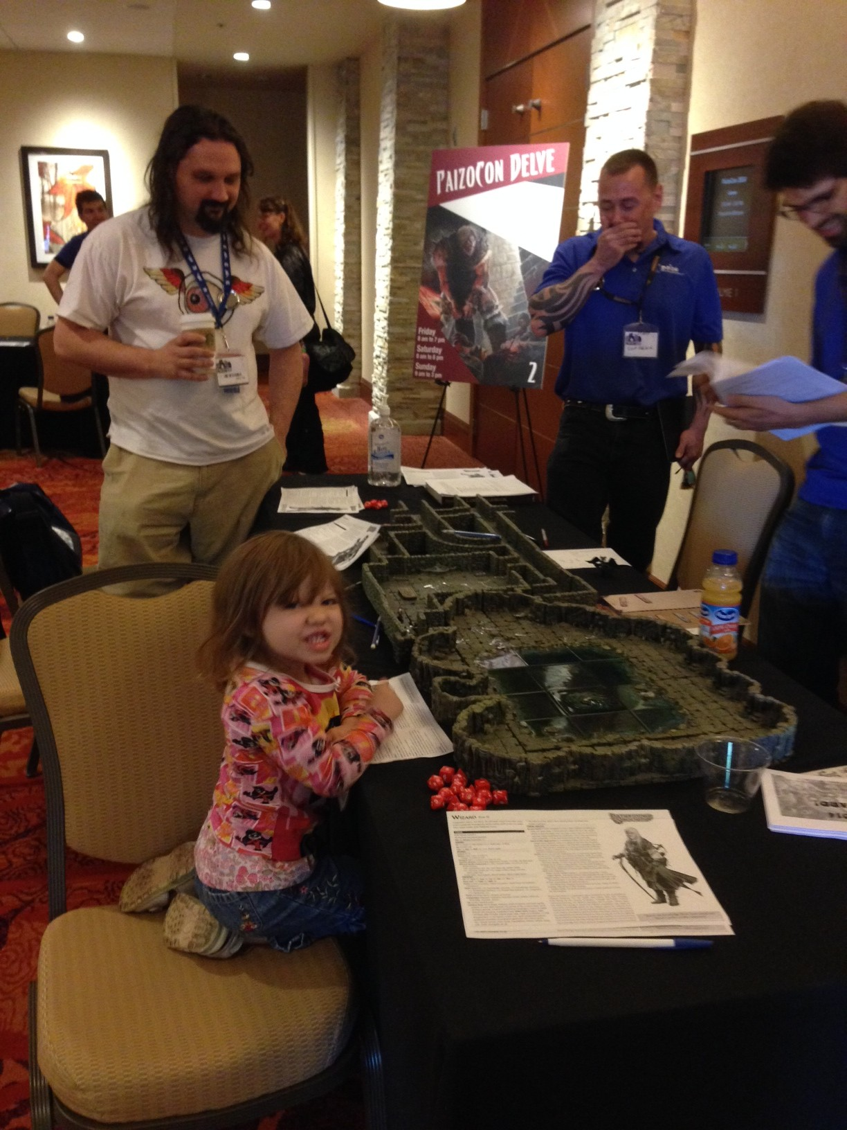PaizoCon 2014 - A Young Gamer