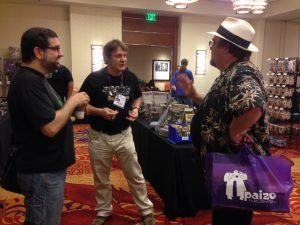 PaizoCon 2014 - With Jeff and Chris