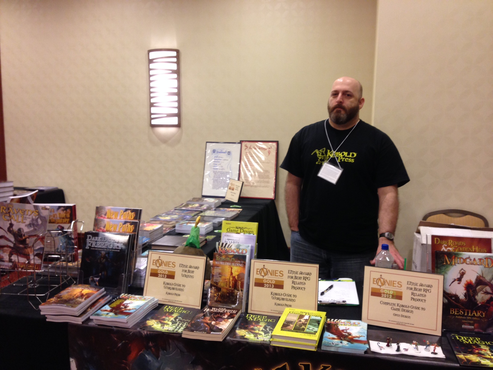 PaizoCon 2014 - Chris