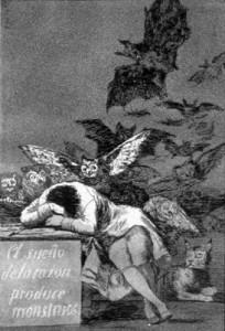 Francisco de Goya: The Sleep of Reason Produces Monsters