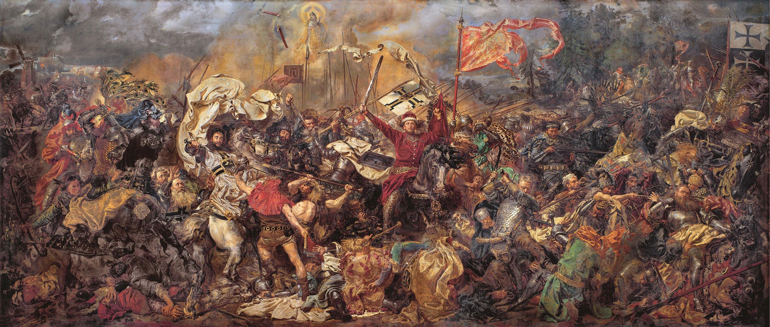 Battle of Grunwald by Jan Matejko (1878)