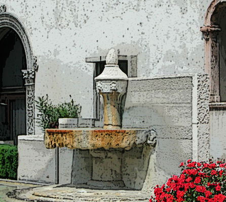 Fountain in Verona (original photographer Photographer: Riccardo Speziari)
