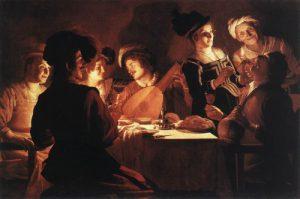 Gerrit van Honthorst's Supper Party