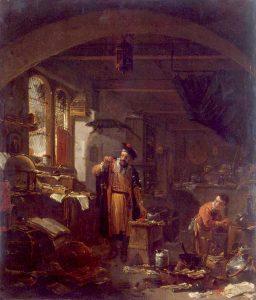 The Alchemist by Thomas Wijck