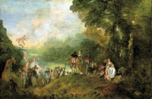 The Embarkation for Cythera - Jean-Antoine Watteau