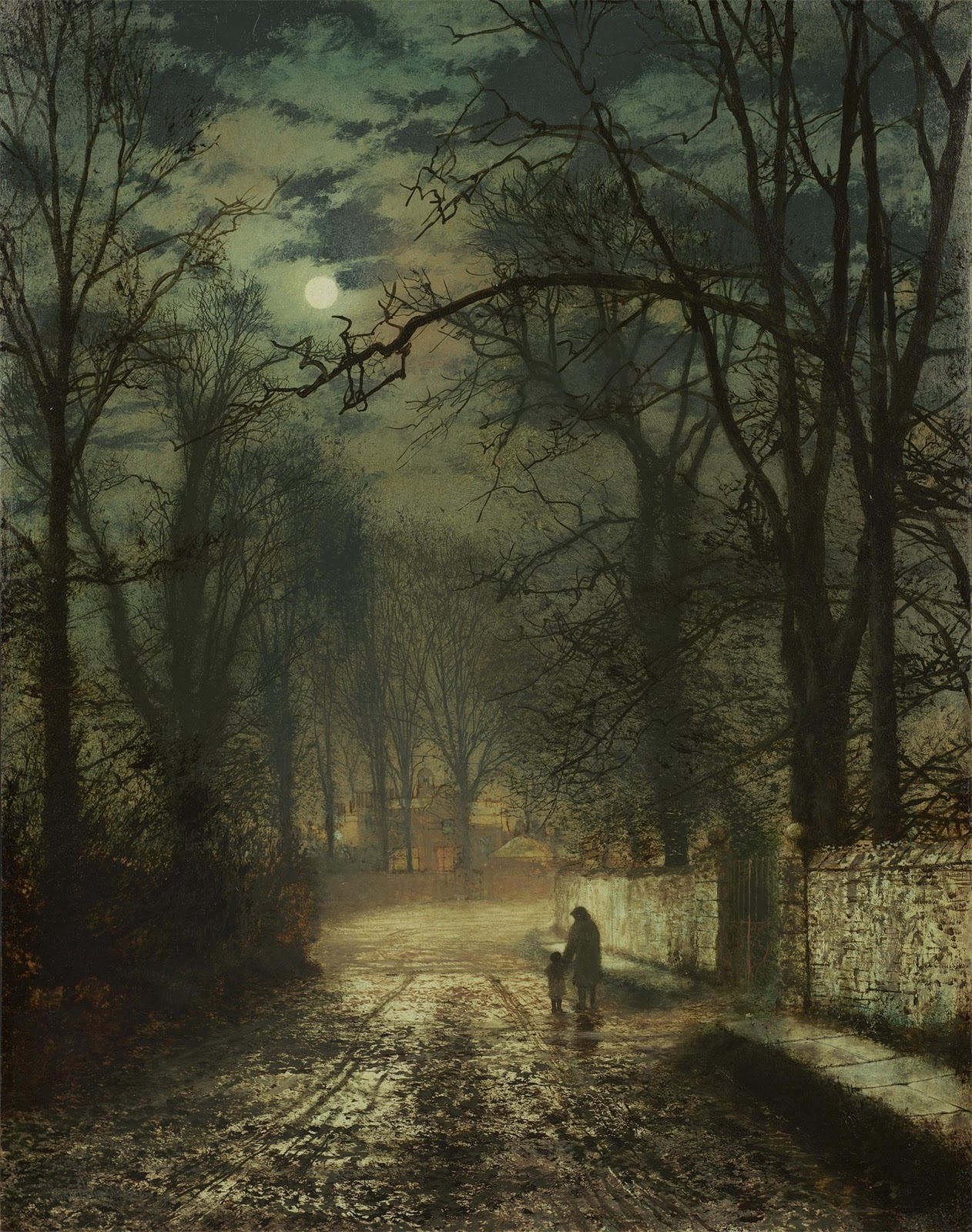 Travel Domain John Atkinson Grimshaw
