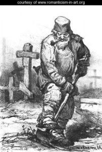 Gravedigger 1871 - Viktor Vasnetsov