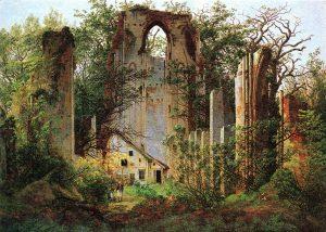 Caspar David Friedrich - Klosterruine Eldena (ca.1825)