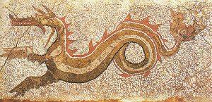 Reggio calabria museo nazionale mosaico da kaulon