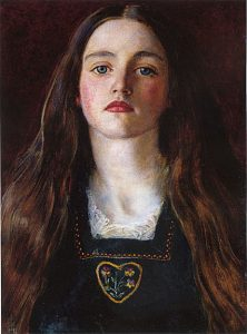 Portrait of a Girl - John Everett Millais
