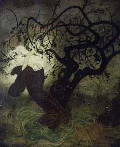 Edmund Dulac - Buried Moon