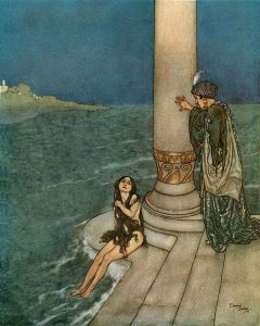 By Edmund Dulac - Gutenberg.org: Stories from Hans Andersen, with illustrations by Edmund Dulac, London, Hodder & Stoughton, Ltd., 1911.