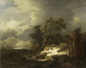 Landscape with ruins by Jacob Isaacksz