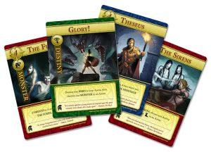 Sample Arena cards