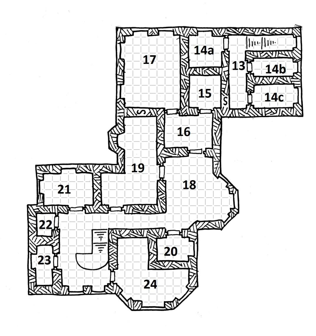 Midgard Maps: The Lady of White Rose Manor (page 6)   Kobold Press