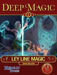 Deep Magic 5e - Ley Lines cover