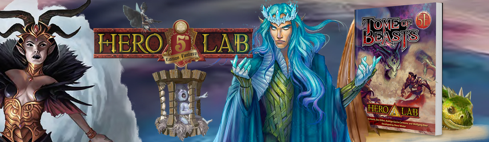 5E Tome of Beasts  on Hero Lab Now Available