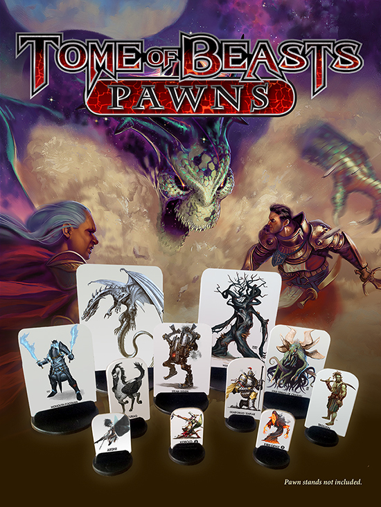 Tome of Beasts Pawns Now Available